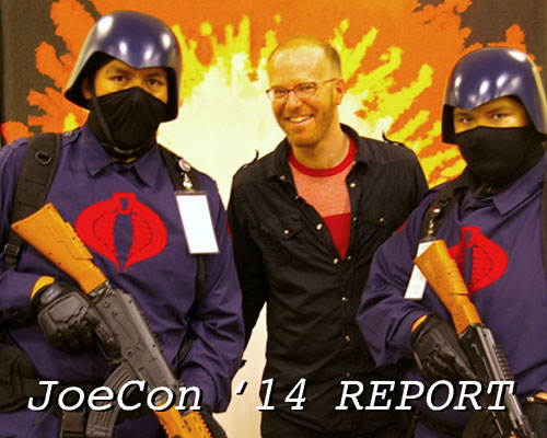 Tim Finn GI Joe Convention
