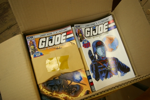 Hub Comics case of 100 copies of G.I. Joe 200