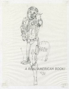 Kurt Groen 1990 G.I. Joe Cobra Zombie pencil art