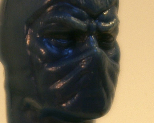 G.I. Joe Mortal Kombat Sub-Zero test shot detail