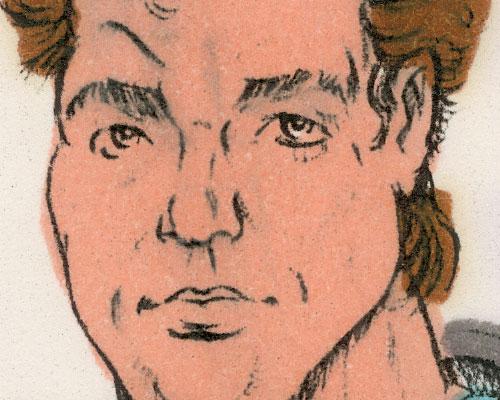 1986 Thrasher sketch color comp Ron Rudat