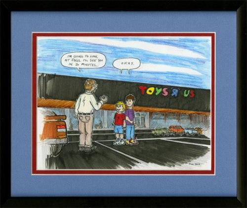 Dad Xmas 2010 TRU framed