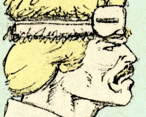 1989 Mark Pennington G.I. Joe Windchill close up