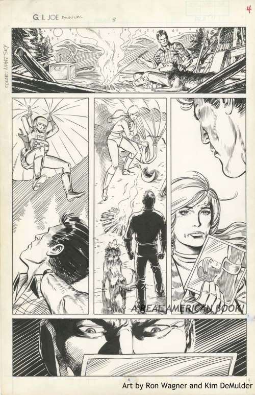 G.I. Joe Yearbook 3 pg 4 Wagner DeMulder