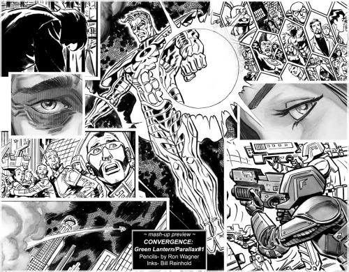 Ron Wagner Bill Reinhold Convergence Green Lantern