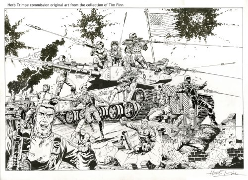 GI Joe commission Trimpe