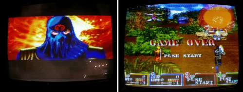 Konami GI Joe video game screen pics