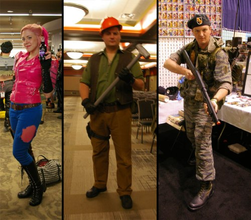 GI Joe Con 2015 cosplay Zarana Tollbooth Lt Falcon