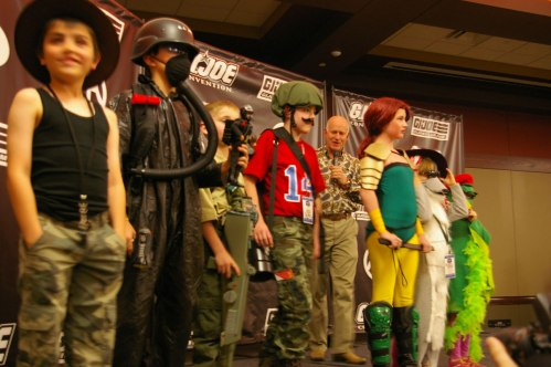 Kids category costume contest JoeCon 2015