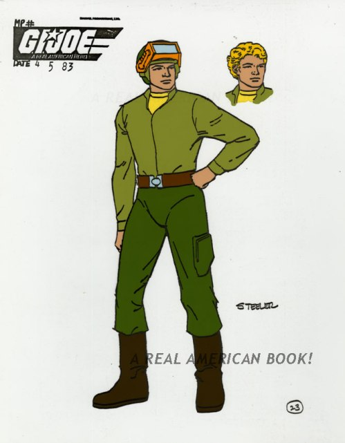 Steeler model sheet Russ Heath