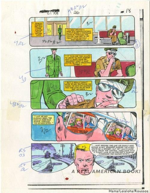 GI Joe 26 pg14 COLOR GUIDE Roussos