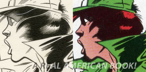 GI Joe 44 cover comparison art by Mike Zeck and John Beatty