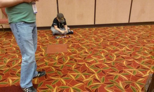 GI Joe con 2016 kid playing