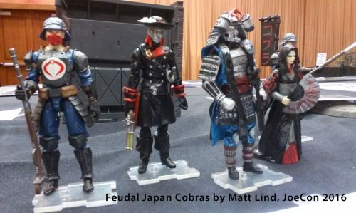 GI Joe con 2016 Feudal Japan Matt Lind
