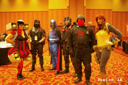 GI Joe con 2016 cosplay