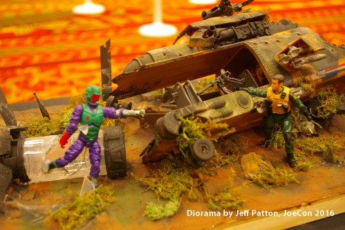 GI Joe con 2016 diorama Jeff Patton