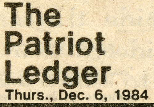 Patriot Ledger 12-06-84