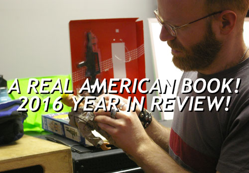 A Real American Book! Year In Review 2016