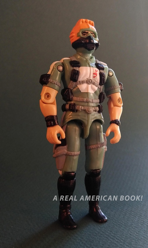 1986 production Wetsuit G.I. Joe action figure, nothing special here. Just for comparison