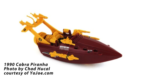 Cobra Piranha from YoJoe.com photo by Chad Hucal